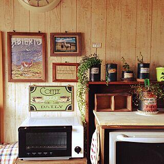 キッチン/リメ缶/rinrikaさんピックのインテリア実例 - 2014-12-06 10:54:28