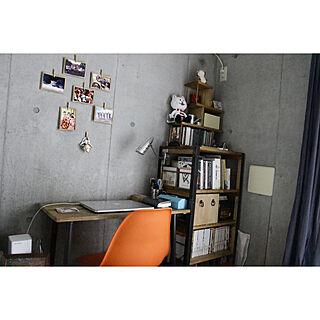 1R、一人暮らしの「机」についてのインテリア実例