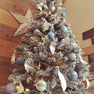 女性家族暮らし、クリスマスディスプレイに関するtommy39さんの実例写真