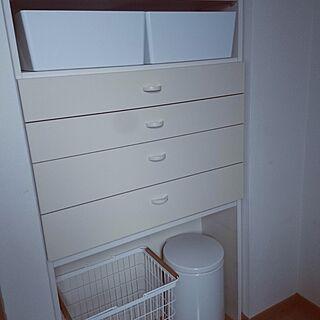 女性家族暮らし4LDK、ブラバンシア ゴミ箱に関するyumicさんの実例写真