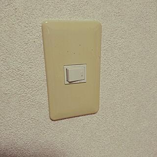 女性家族暮らし3LDK、フェイクグリーン 賃貸マンション 壁に関するdokkypomさんの実例写真