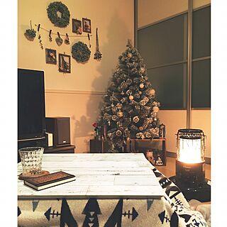 リビング/クリスマス/ニトリ /コタツ/セリアのリメイクシート...などのインテリア実例 - 2016-11-28 18:55:51