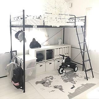 IKEA/ロフトベッド/ニトリ/ハイベッド/息子部屋...などのインテリア実例 - 2020-05-17 11:17:33