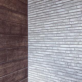 木目調/グレーの家/ケイミュー/外壁/玄関/入り口のインテリア実例 - 2019-06-23 22:27:33