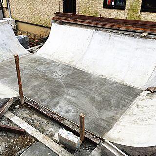 玄関/入り口/家の庭をVenicebeachに/DIY/skater遊び場/混ぜ太郎...などのインテリア実例 - 2016-10-17 13:43:02