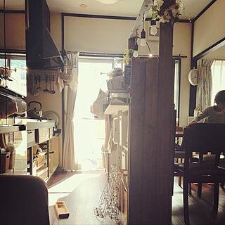 キッチン/照明/DIY/マステ/団地 賃貸...などのインテリア実例 - 2018-01-09 13:01:11