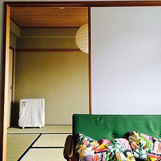 ベッド周り/和室/IKEA/カリモク60/オイルヒーター...などのインテリア実例 - 2015-09-10 10:36:15