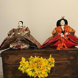 女性、りんご箱リメイクに関するramureさんの実例写真