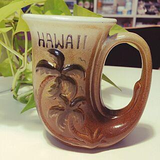 机/Made in Hawaii/ハワイ大好き/ハワイアンヴィンテージ/アロハ部...などのインテリア実例 - 2014-11-13 21:24:17