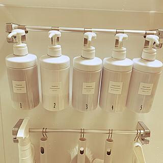 LIXILのお風呂/LIXIL/シャンプーボトル ラベルシール/シャンプー&コンディショナーボトル/シャンプーボトル...などのインテリア実例 - 2019-08-01 20:57:35
