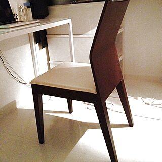 男性38歳の一人暮らし、mode en casaの椅子に関するatsumuさんの実例写真