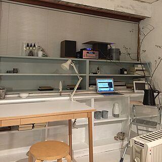 机/イデー/無印良品/DIY/塩系インテリアの会...などのインテリア実例 - 2016-10-14 20:26:17