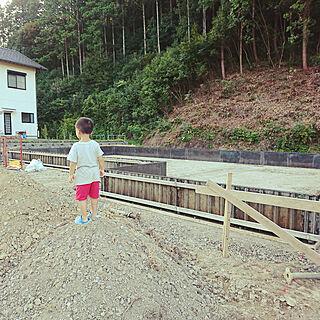 女性29歳の家族暮らし4LDK、型枠組みに関するYukiさんの実例写真