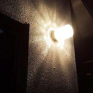 男性39歳の家族暮らし3DK、屋外ライトに関するtommy1さんの実例写真