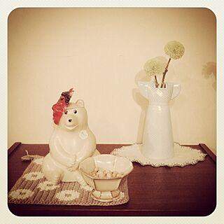 リビング/ビヨルク/リサ・ラーソン/北欧雑貨/シロクマ...などのインテリア実例 - 2014-02-03 15:50:00