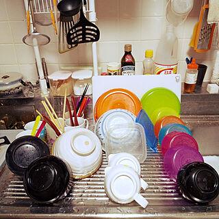 キッチン/お皿洗い/諦めた家事/お皿洗い後のインテリア実例 - 2020-02-26 23:35:18