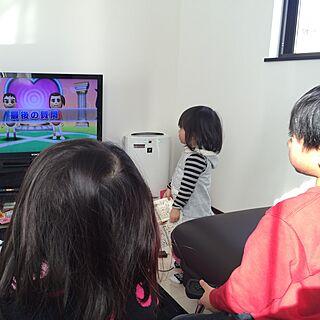 女性28歳の家族暮らし3LDK、WiiUに関するfuyunyanさんの実例写真