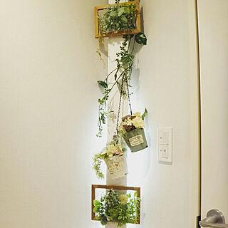 女性33歳の同棲2LDK、ディアウォールの壁に関するru_u.rさんの実例写真