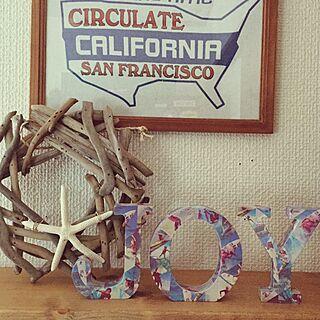 棚/BEACH STYLE/eight★star/Callfornia/カリフォルニア...などのインテリア実例 - 2015-01-05 22:09:52