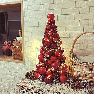 リビング/クリスマス/イベント参加用/レッド♡/雑貨...などのインテリア実例 - 2017-11-10 14:37:54