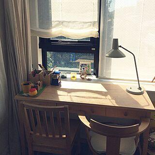 3LDK、家族住まいの「机」についてのインテリア実例