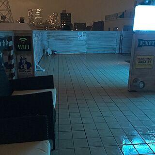 男性35歳の3LDK、屋外ライトに関するdonさんの実例写真