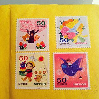 単なる自慢/たからもの/切手のインテリア実例 - 2012-06-07 23:10:41