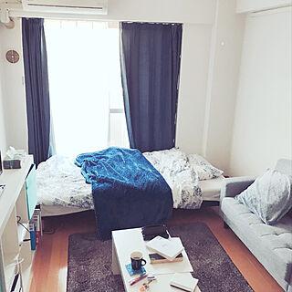部屋全体/IKEA/一人暮らし/7畳のインテリア実例 - 2018-01-06 10:32:59