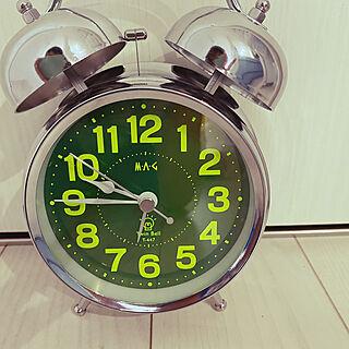 めざまし時計/ベッド周りのインテリア実例 - 2020-05-10 21:13:36