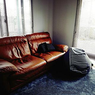 女性32歳の家族暮らし、ソファーに関するAyuさんの実例写真