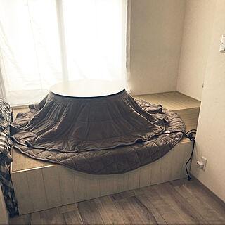 部屋全体/カフェ風/アンティーク/シンプル/3畳の畳コーナー...などのインテリア実例 - 2017-12-16 18:11:07