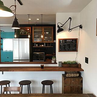 キッチン/DIY/カフェ風/おうちカフェ/カフェ風インテリア...などのインテリア実例 - 2017-10-28 10:30:13