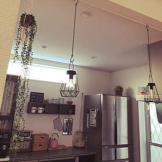 キッチン/なんちゃってライト/ソーラーライト/建て売りだけど可愛くしたい♪/いいね!ありがとうございます♪...などのインテリア実例 - 2017-08-23 18:17:57