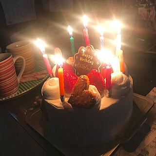 女性54歳の家族暮らし4LDK、誕生日に関するmimiさんの実例写真