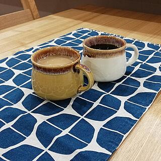 机/お茶セット/ドゥセー/ドゥ・セー/コーヒーカップ...などのインテリア実例 - 2021-01-10 20:52:09
