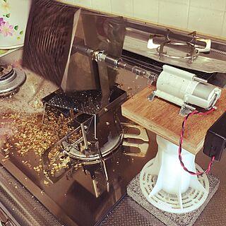 コンテスト用に再投稿/コーヒー/珈琲焙煎/アウベルクラフト/DIY...などのインテリア実例 - 2015-06-15 00:34:45