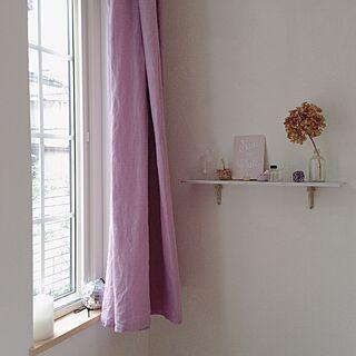 女性41歳の家族暮らし3LDK、格子入り窓に関するsaooo39さんの実例写真