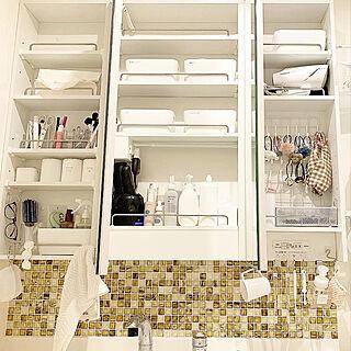女性28歳の家族暮らし3LDK、洗面、脱衣所に関するn__ieさんの実例写真