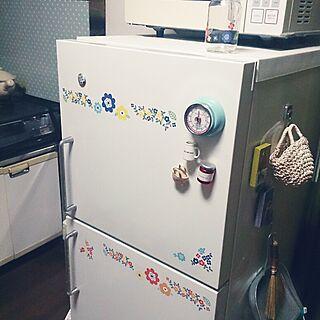 キッチン/古い家/神奈川県民/家電は白/無印の冷蔵庫。...などのインテリア実例 - 2014-09-12 00:28:13