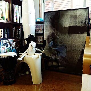 ポスター/ぬいぐるみ/フィギュア/ポスターのある部屋/neighborhood...などのインテリア実例 - 2016-02-28 14:57:24