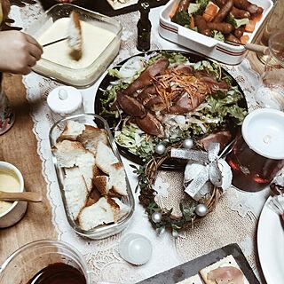 女性29歳の家族暮らし3LDK、クリスマスパーティー(⌒▽⌒)に関するSTELLA_SEAさんの実例写真