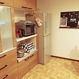 女性家族暮らし4LDK、黒板塗装に関するyouk2519さんの実例写真