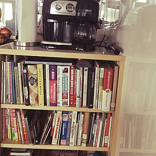 キッチン/Coffee Maker/coffee table/cooking book/Book Shelfのインテリア実例 - 2016-10-08 10:15:04