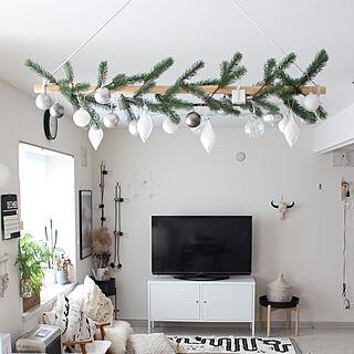 オーナメント/クリスマスディスプレイ/クリスマス/男の子/ig→alinu.h.h.k...などのインテリア実例 - 2019-12-18 13:29:48