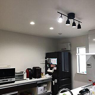 キッチン/ダウンライト/ペンダントライト/カウンターチェア/照明...などのインテリア実例 - 2017-06-11 06:12:16