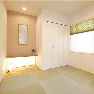 部屋全体/和室/四畳半/琉球畳/床の間...などのインテリア実例 - 2016-03-12 12:57:46