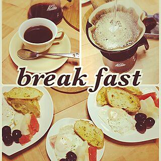 キッチン/モーニングコーヒー/日本家屋/朝食/今日から朝食作るぞー!...などのインテリア実例 - 2016-09-21 08:43:40