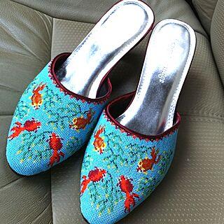 女性家族暮らし4LDK、プラナカン刺繍に関するusataro27さんの実例写真