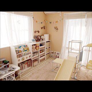 壁/天井/子供部屋 /くまのプーさん/フラッグガーランド/ごちゃごちゃ...などのインテリア実例 - 2014-03-07 19:23:23