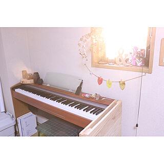ニジスケ/カメラ好き/木が好き/電子ピアノ/BUMP OF CHICKEN...などのインテリア実例 - 2021-02-02 20:29:09